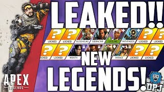 Apex Legends News - 10 New Legends LEAKED!! - Wallrunners & New Robot / Octane & Wattson