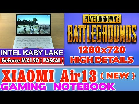 Battlegrounds Xiaomi Air 13 Notebook - 256 SSD/Intel Core i5-7200U/8GB RAM/GeForce MX150 2GB