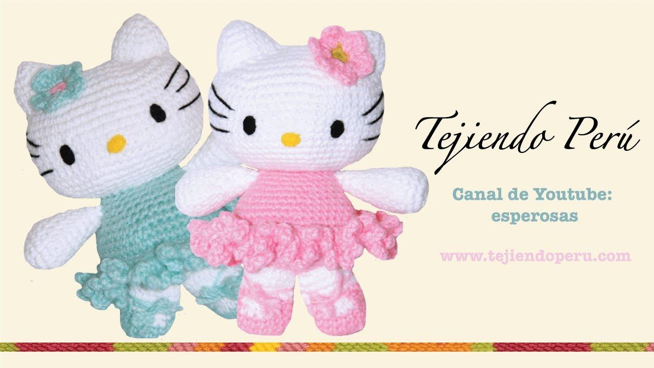 Hello Kitty En Amigurumi : Hello Kitty tejida a crochet (amigurumi) Parte 7: acabados ...