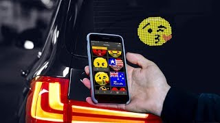 Mojipic: First Voice-Controlled Emoji Car Display