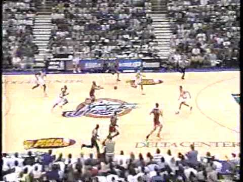 Michael Jordan Flu Game - Bulls vs Jazz, 1997 Finals: Game 5