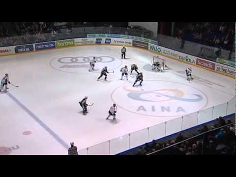 Another Granlund, Another Floorball-style Goal! - Blues Vs. HIFK 17.11.2011 (video)