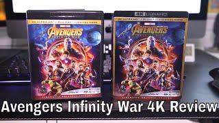 Avengers Infinity War 4K Blu-Ray Review