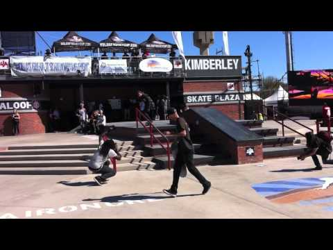 Maloof Money Cup South Africa 2012 Pro Qualifiers 2