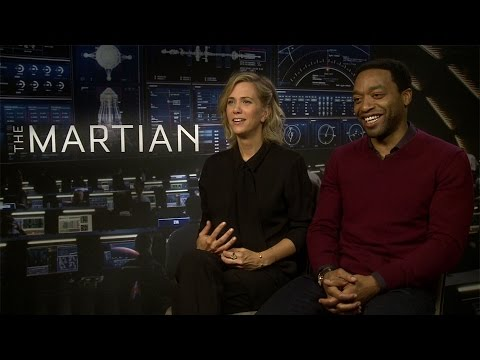 Interview Kristen Wiig & Chiwetel Ejiofor THE MARTIAN