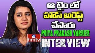 Priya Prakash Varrier Superb Answers to Media   Lovers Day Movie   hmtv
