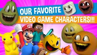 Annoying Orange - The Juice #7: Favorite Video Game Character