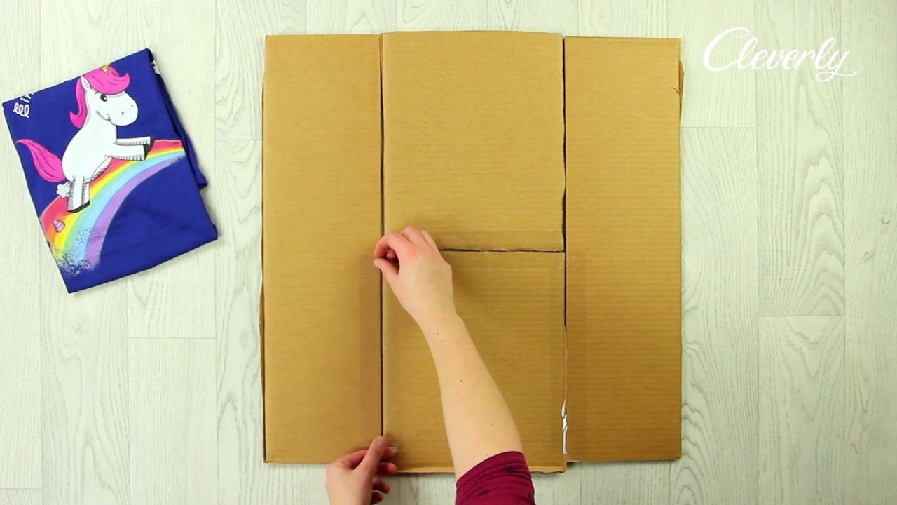 DIY Shirt Folding Board  ThriftyFun