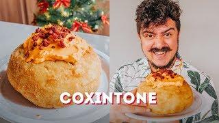 COXINTONE: O PANETONE DE COXINHA DA FAMÍLIA BRASILEIRA | BIGODE SOZINHO NA COZINHA