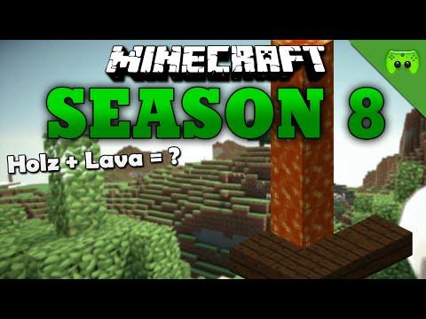 HOLZ + LAVA = «» Minecraft Season 8 # 222 HD