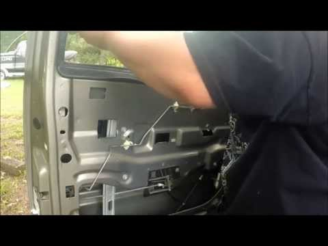 1999-2007 gmc/ chevy truck front window regulator replacement how to