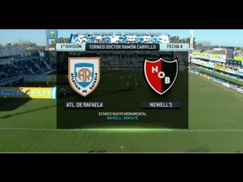 Fútbol en vivo. Rafaela - Newell´s. Fecha 4. Torneo Primera División 2014. FPT.