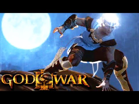 God Of War 3 Chaos - Humilhando Hermes! (13) video