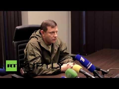 """Ukraine: """"Fighting in Donetsk decreasing"""" - DPR/DNR PM"""