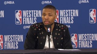 Damian Lillard Postgame Interview - Game 3 | Warriors vs Blazers | 2019 NBA Playoffs