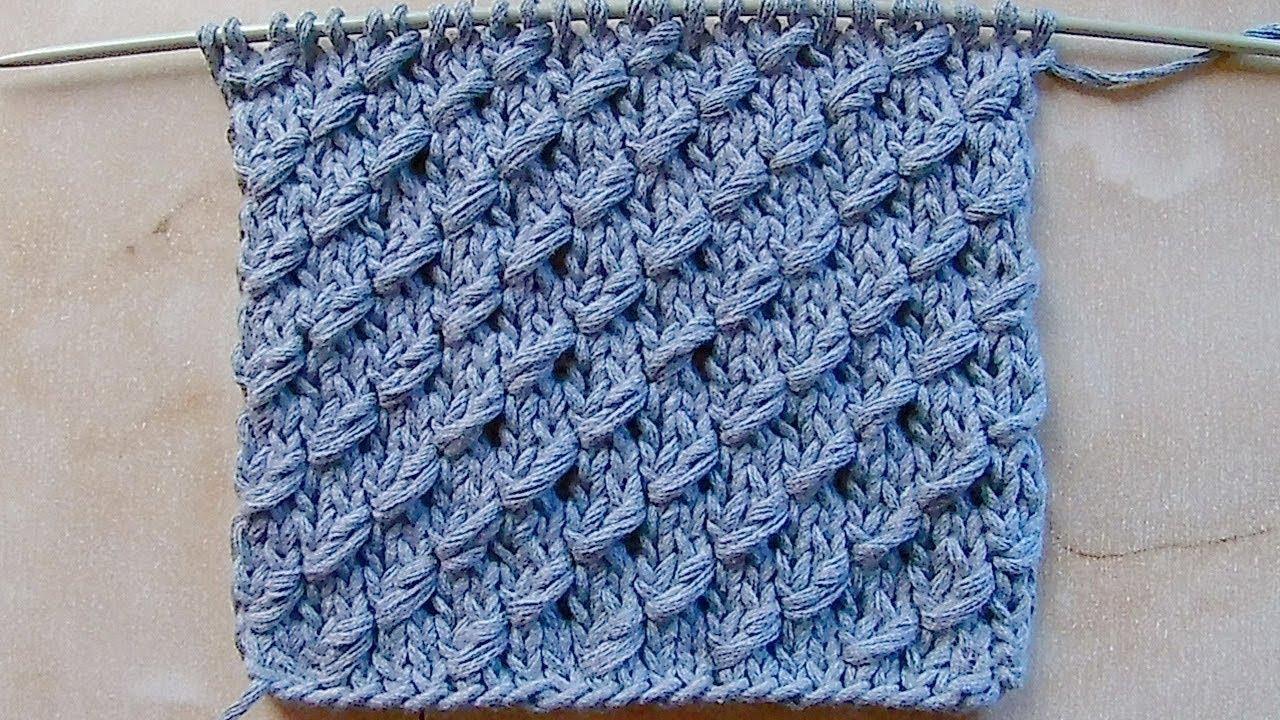 Вязание спицами обвитые петли 51