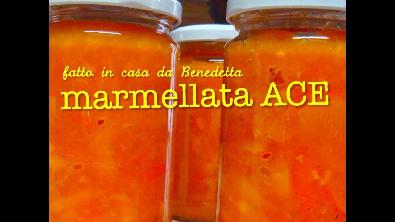 Marmellata ace di arance carote e limoni fatta in casa da - La casa di benedetta ...