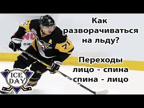 Урок 9 Переходы лицо спина или разворот на коньках