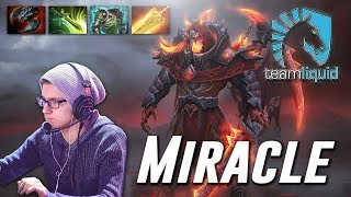 Miracle Doom [Infernal Assassin] Hard MegaCreeps Game Dota 2