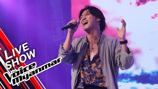 Judson Fish: အေမာေျပ (Zaw Paing) | Live Show - The Voice Myanmar 2019