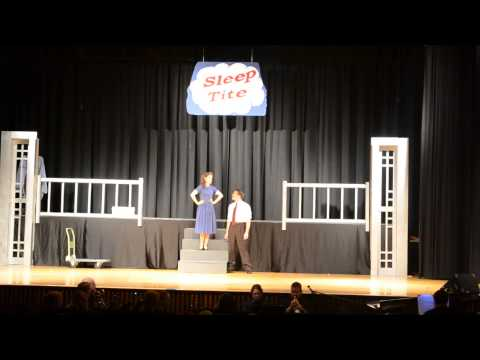 """There Once Was A Man"" - Bethlehem Catholic High School - Pajama Game"