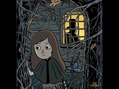 the woodsman makes a deal with the beast over the garden wall comic 4 reading - Over The Garden Wall Streaming
