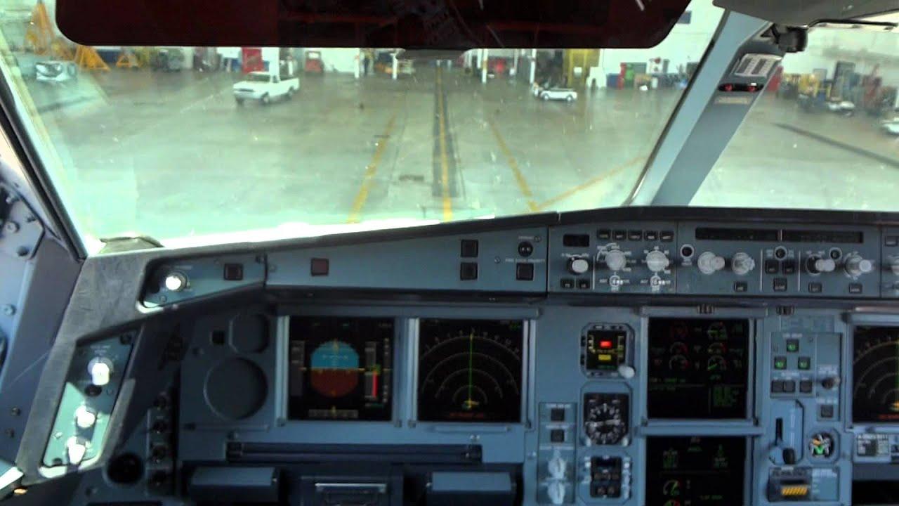 A Airbus Cockpit Tour