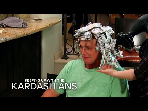Tackling Bruce Jenner's Long Hair | Keeping Up With the Kardashians | E!