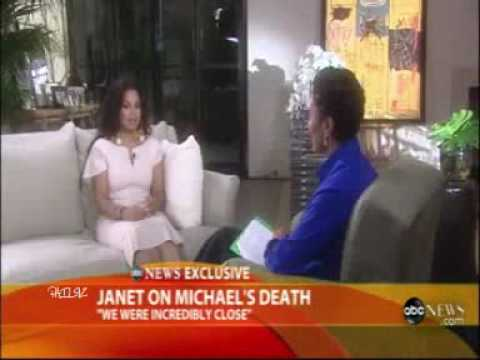 Janet Jackson on Michael's Jackson Death