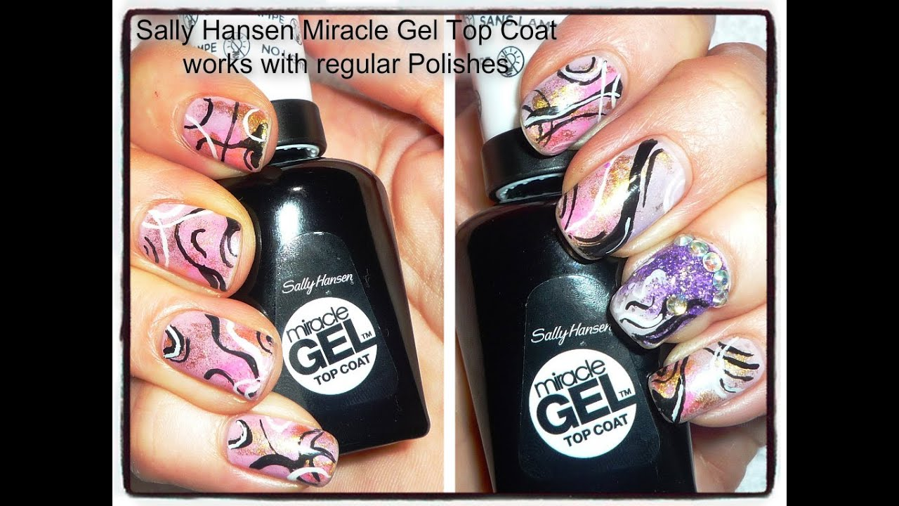Sally Hansen Miracle Gel Top