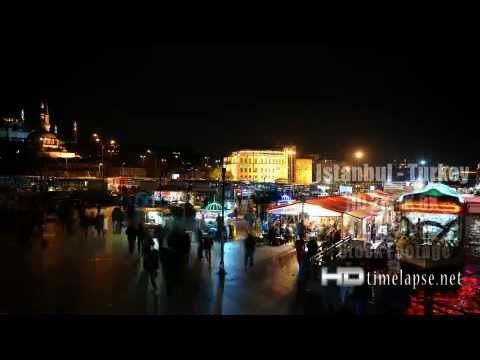 Istanbul, Turkey - UHD Ultra HD 2K 4K Video Time Lapse Stock Footage Royalty-Free