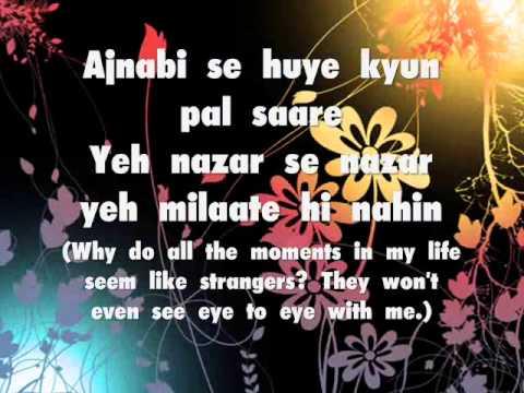 Bin Tere - I Hate Luv Storys (Lyrics)