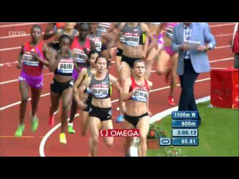 Selsouli wins 1500m Diamond League Paris 2012 3:56.17