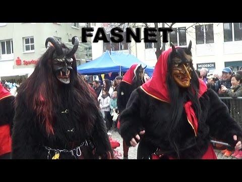 Fasnet-Umzug Emmendingen 2017 -  Masken-Umzug mit Hexen und Teufel Teil II