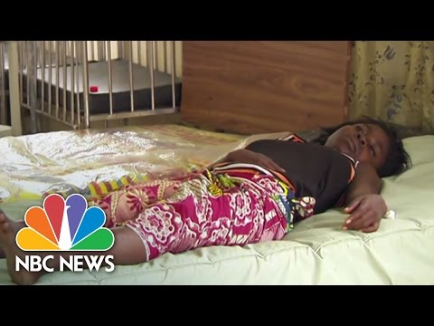 Ebola continues to ravage Africa. We take an inside look at an Ebola treatment center Monrovia, Liberia. » Subscribe to NBC News: http://nbcnews.to/SubscribeToNBC » Watch more NBC video: http://bit.ly/MoreNBCNews  NBC News is a leading source of global news and information. Here you will find clips from NBC Nightly News, Meet The Press, and our original series Debunker, Flashback, Nerdwatch, and Show Me. Subscribe to our channel for news stories, technology, politics, health, entertainment, science, business, and exclusive NBC investigations.  Connect with NBC News Online! Visit NBCNews.Com: http://nbcnews.to/ReadNBC Find NBC News on Facebook: http://nbcnews.to/LikeNBC Follow NBC News on Twitter: http://nbcnews.to/FollowNBC Follow NBC News on Google+: http://nbcnews.to/PlusNBC Follow NBC News on Instagram: http://nbcnews.to/InstaNBC Follow NBC News on Pinterest: http://nbcnews.to/PinNBC  Inside An Ebola Treatment Center | NBC News