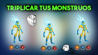 [BUG] Monster Legends |Triplica Tus Monstruos En Combate: PVP, Mazmorras, Mapa de Aventura