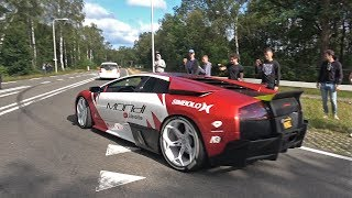 Lamborghini Murcielago LP640 with LOUD Straight Pipes!