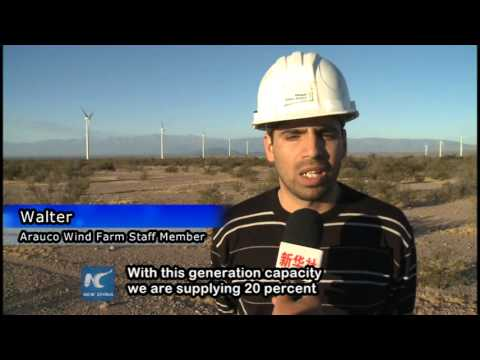 China helps Argentinean province realize energy sufficiency