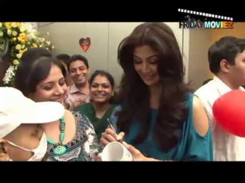 Shilpa Shetty Talks About Cancer Awareness video