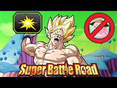 NO ITEMS USED! PURE SAIYANS CATEGORY SUPER BATTLE ROAD! Dragon Ball Z Dokkan Battle