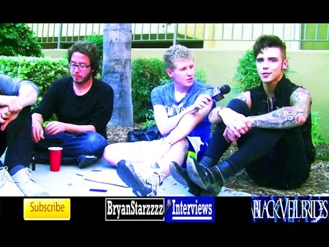 Black Veil Brides Gives Advice Self Harm (Andy Biersack Interview 2014)