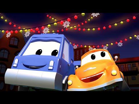 Эвакуатор Том - Чак и Рождественские огни - Автомобильный Город  🚗 детский мультфильм