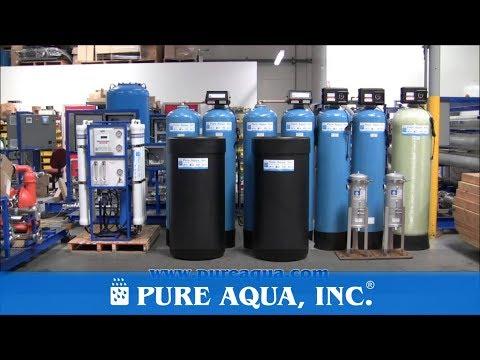 Pure Aqua| Un Sistema De Filtración De Agua De Osmosis Inversa 9,000 GPD Mexico