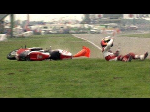 Аварии на мотогонках MotoGP™
