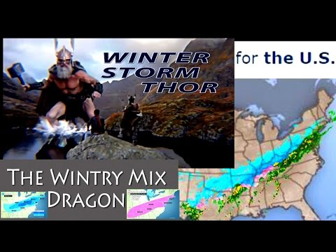 Winter Storm THOR : The Wintry Mixed Dragon