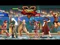 Street Fighter V AE Falke/Kolin/Laura vs Juri/Ibuki/Sakura PC Mod
