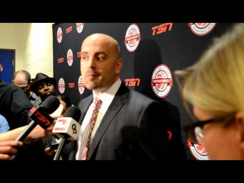 BioSteel All Canadian Showcase: Team Red Gus Gymnopolous Post Game