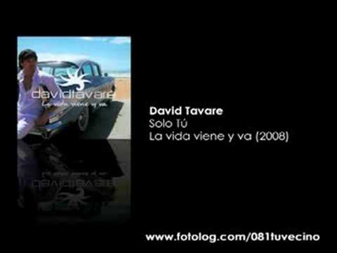 David Tavare - Solo tu