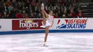Alissa Czisny 2012 US Nationals free program