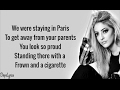 The Chainsmokers - Paris (Lyrics)(Sofia Karlberg Cover)